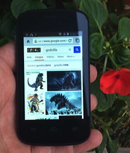 You can find anything online with this tiny monster of a phone