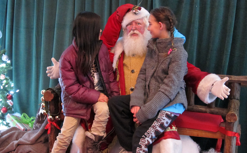 santa doesn't know how to deal with girls