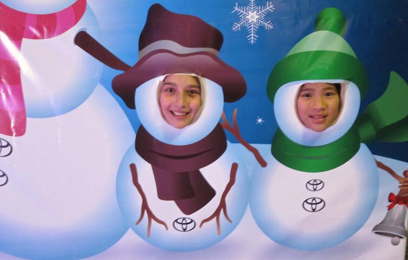 cheery little snowmen