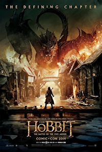 The Hobbit: The Battle of the Five Armies movie poster one sheet