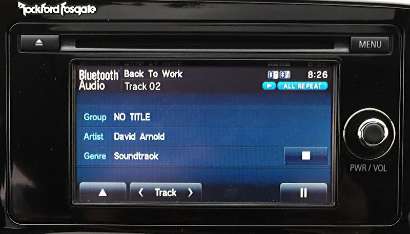 mitsubishi stereo interface