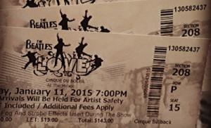 cirque beatles love tickets