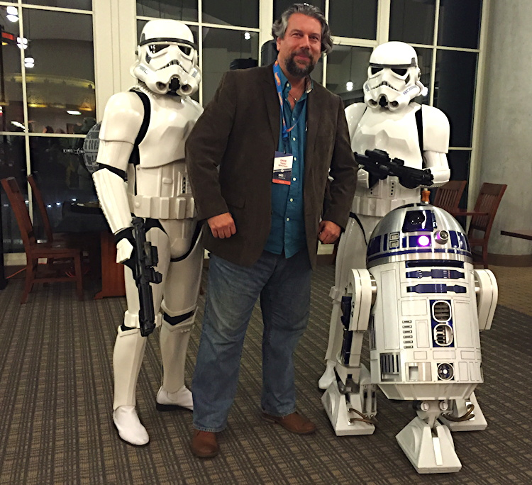 dave taylor star wars storm troopers r2d2