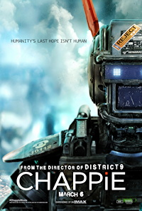 chappie movie one sheet poster