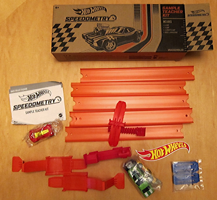hot wheels hotwheels speedometry set