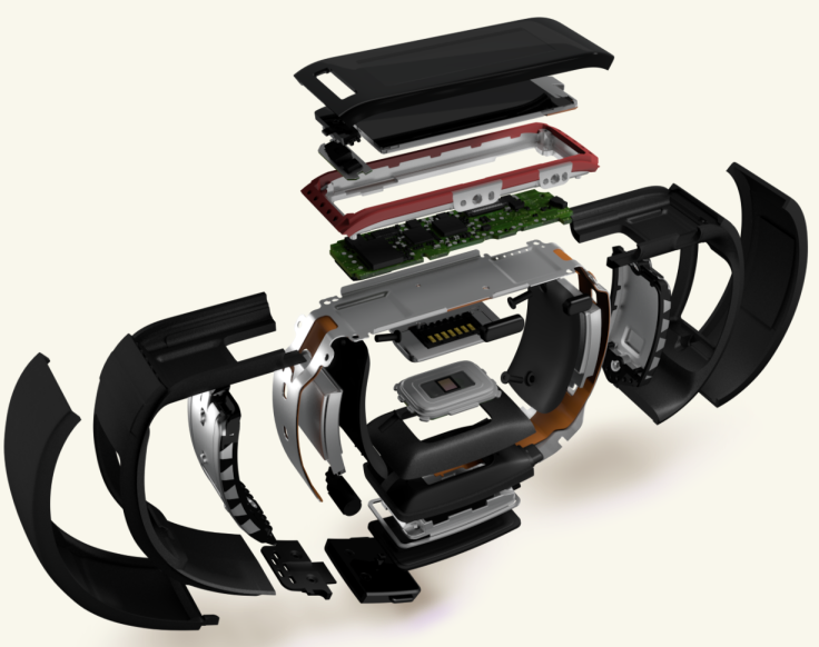 microsoft band exploded view