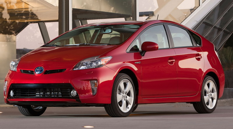 toyota prius red