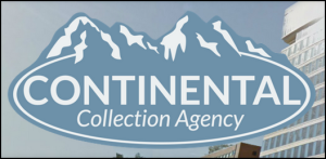 continental collection agency process servers logo