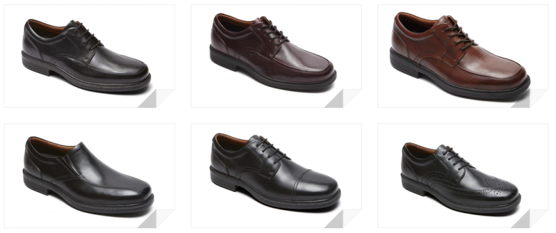 rockport dressports luxe men's dress shoes line