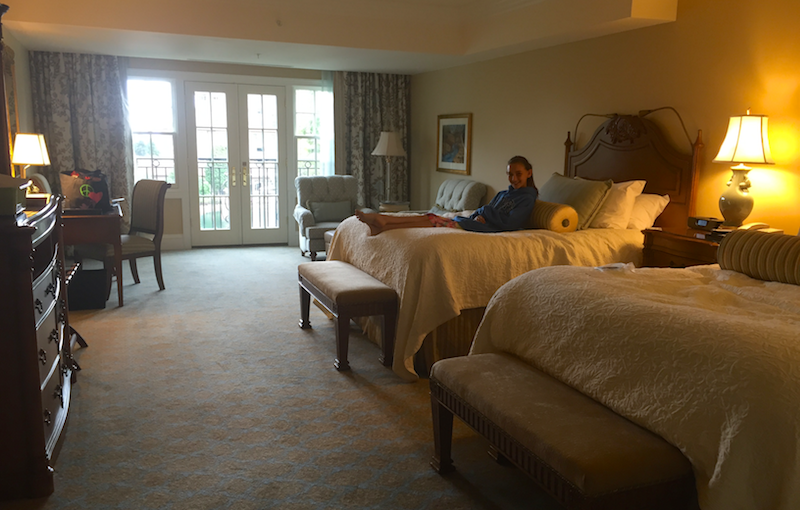 fabulous hotel room at the Broadmoor