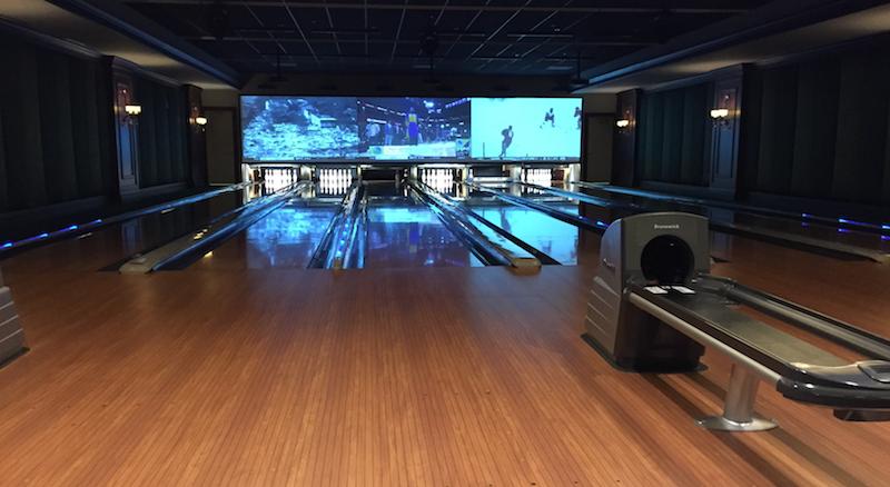 bowling alley, play at the broader
