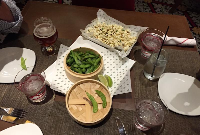 dinner at play at the broader