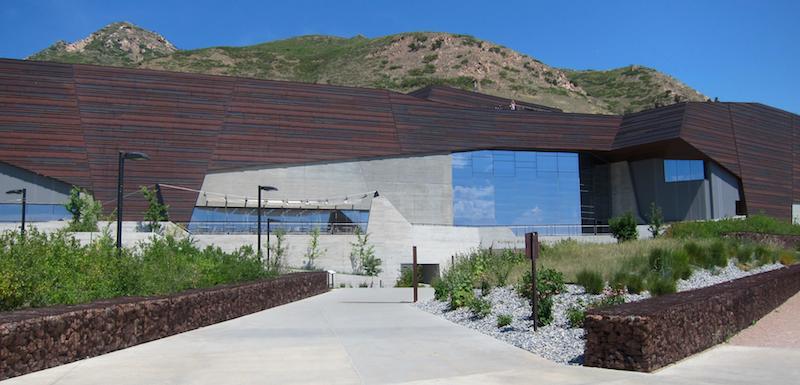 exterior, natural history museum of utah