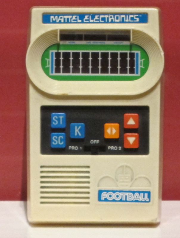 atari handheld football lcd game