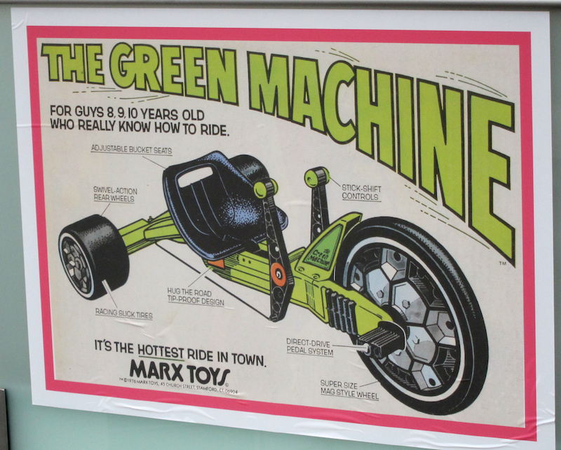 the green machine, for boys 9-11