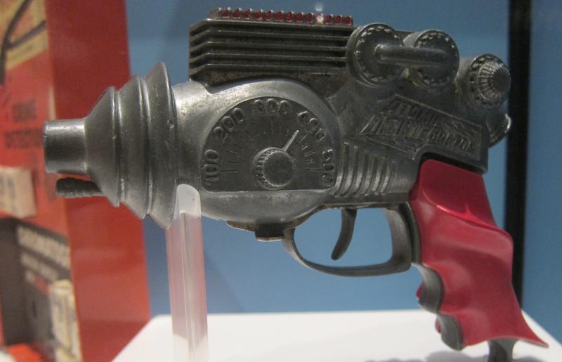 laser gun, history colorado museum toys exhibit