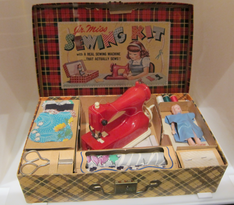 sewing jr miss kit history colorado museum toys exhibit