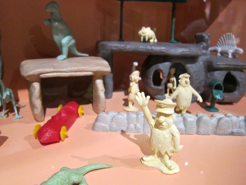 Flinstones figurines and models