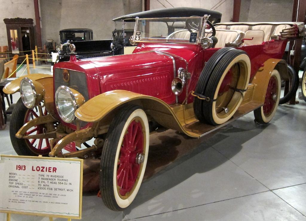 beautiful antique old car