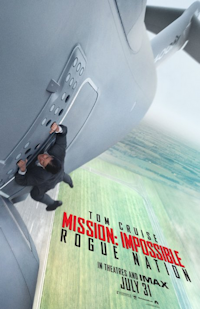 mission impossible rogue nation V movie poster one sheet