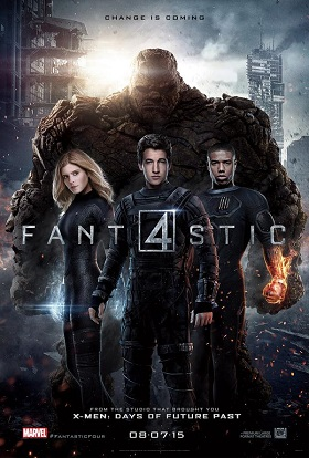 fantastic four 2015 one sheet movie poster