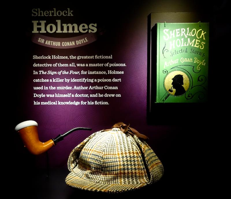 sherlock holmes exhibit at power of poison