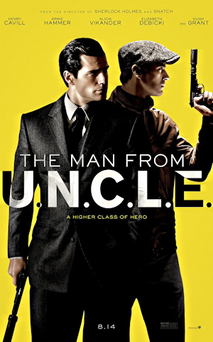 the man from uncle movie poster one sheet 2015