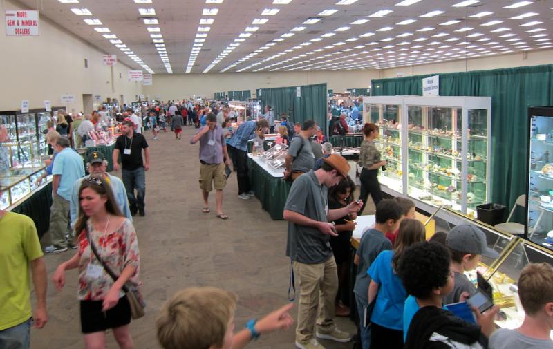overview of the denver gem mineral show