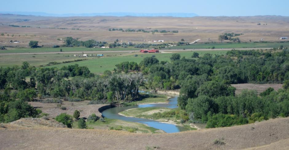 little bighorn river