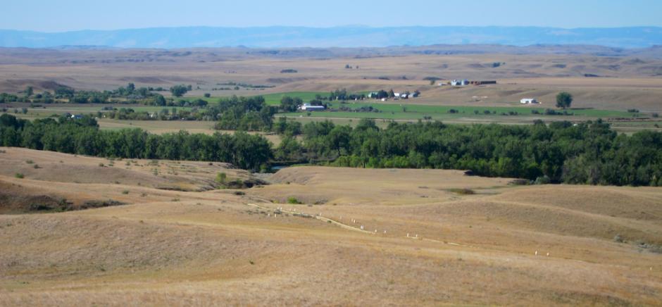 deep ravine trail, little bighorn battlefield