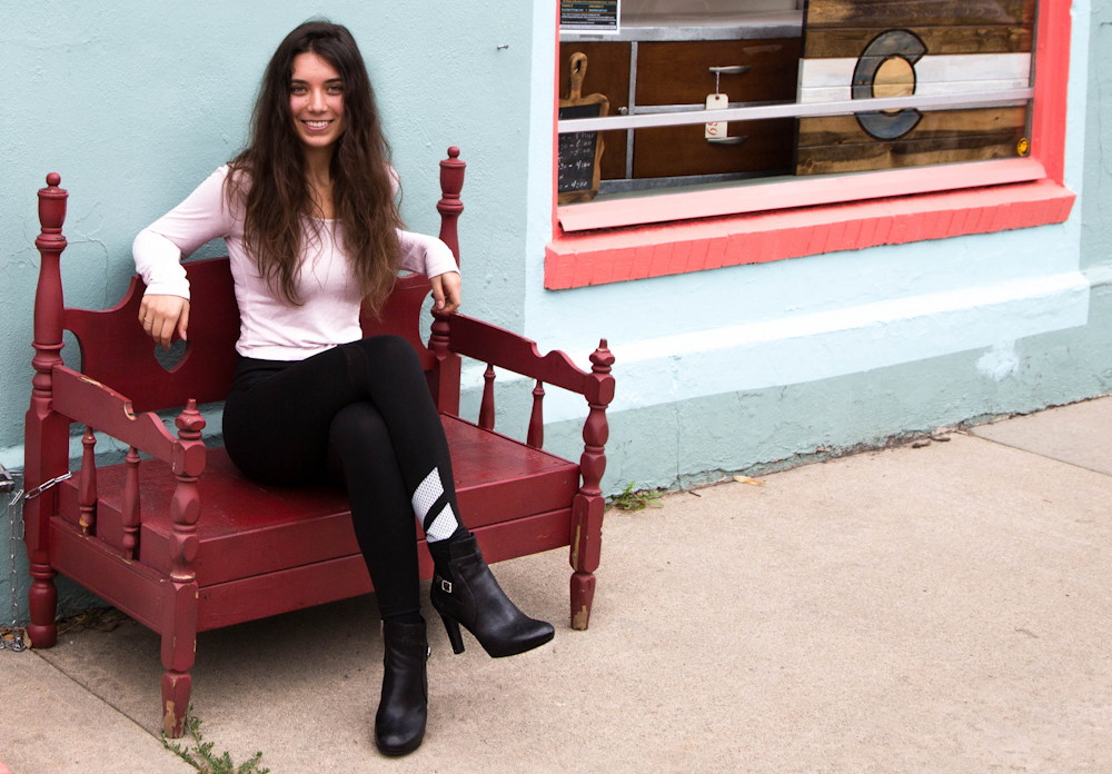 ashley with rockport chelsea boots