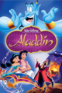 walt disney aladdin movie poster one sheet