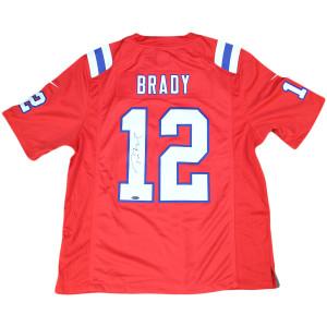 Tom Brady autographed jersey