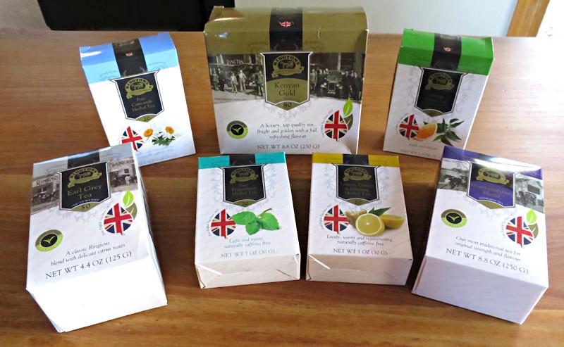 wide variety of rington's premium english teas