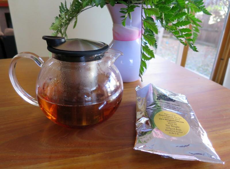 bola glass teapot from rington's finest english tea.com