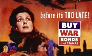 buy war bonds, before it's too late (from the collection of the WWII museum)