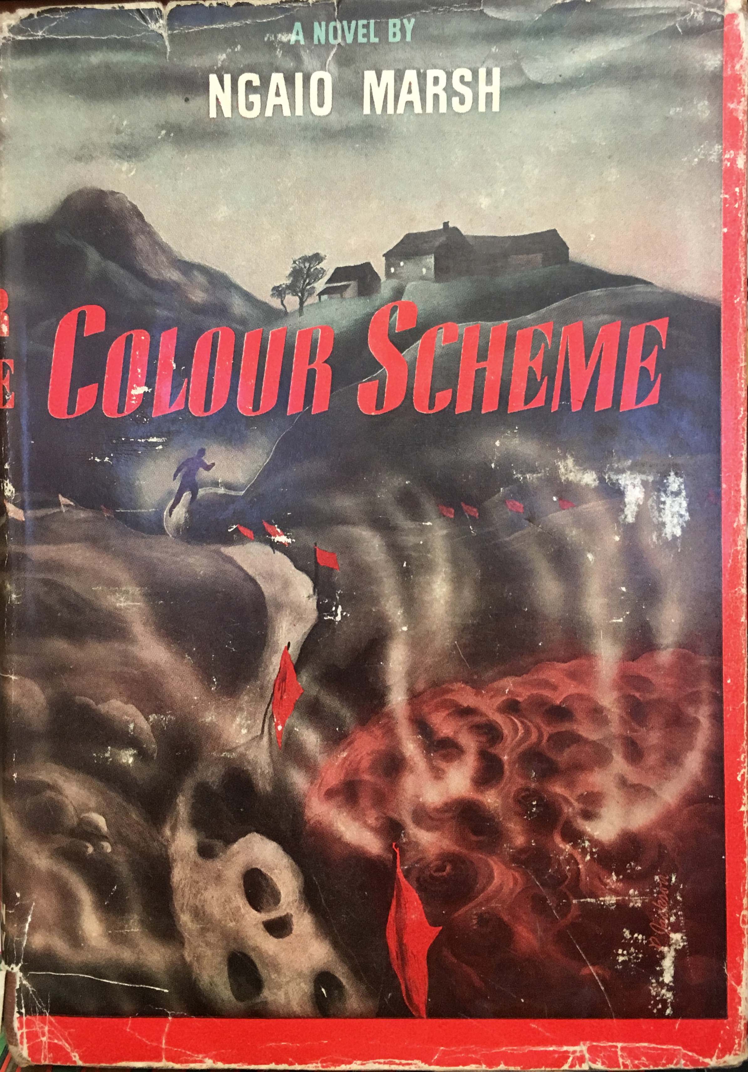 1945 printing, 'colour scheme' by ngaio marsh