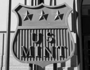 us mint shield sign signage denver mint