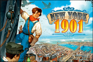 new york 1901 board game graphic logo
