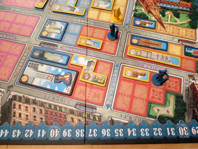 """New York: 1901"" board game"