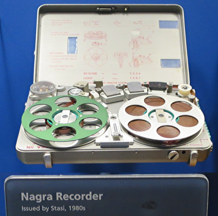 audio recording device from KGB SMERSH russian spy