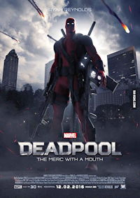 deadpool movie poster one sheet