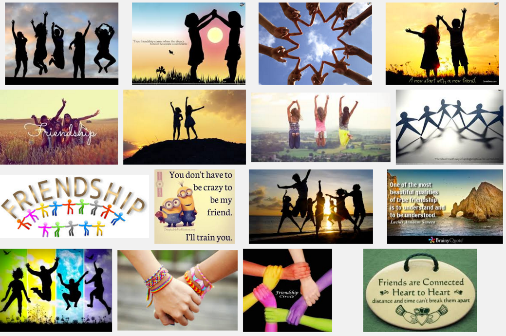 "Interestingly, a Google Image Search for ""friendship"" reveals it's kids and women who have friends. Not men."