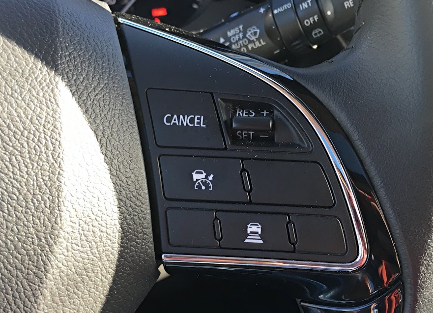 2016 mitsubishi outlander cruise control buttons, steering wheel