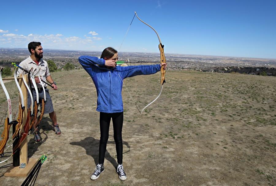 girl archery colorado broadmoor