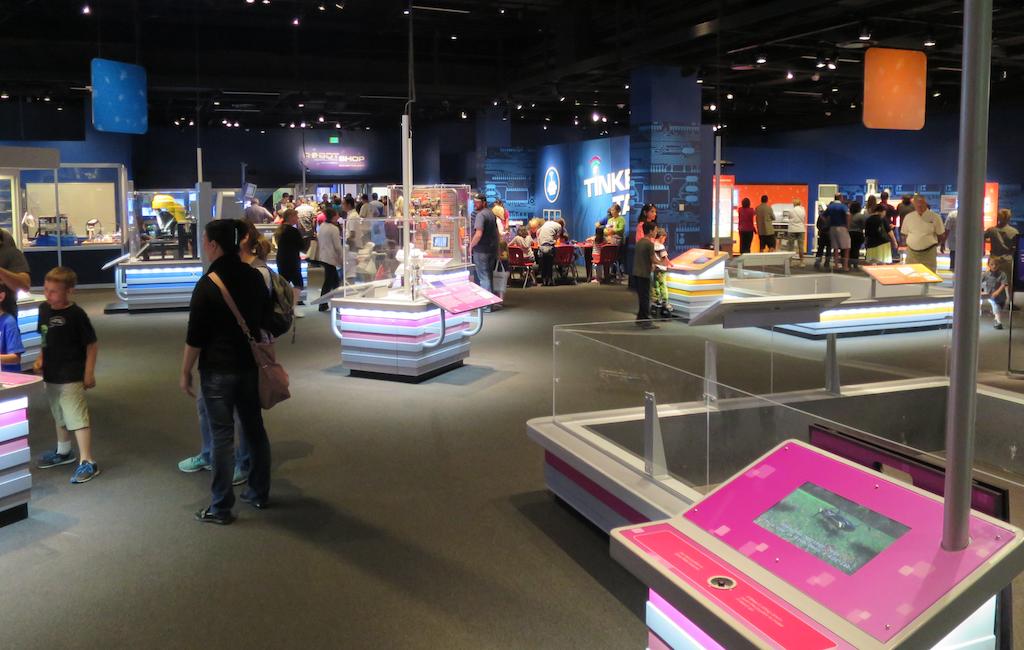 overview, DMNS Robot Revolution exhibit