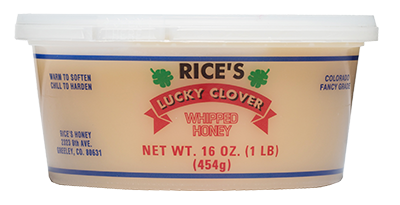 rice's honey - 16oz whipped honey container