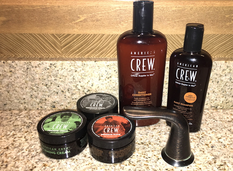 american crew hair care product lineup