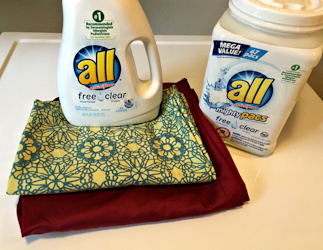 operation pillow case laundry allergens all free clear liquid laundry detergent