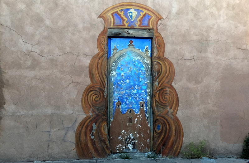Just another Santa Fe doorway